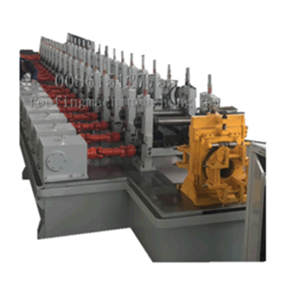 C purline 4-5mm thickness rolling machine