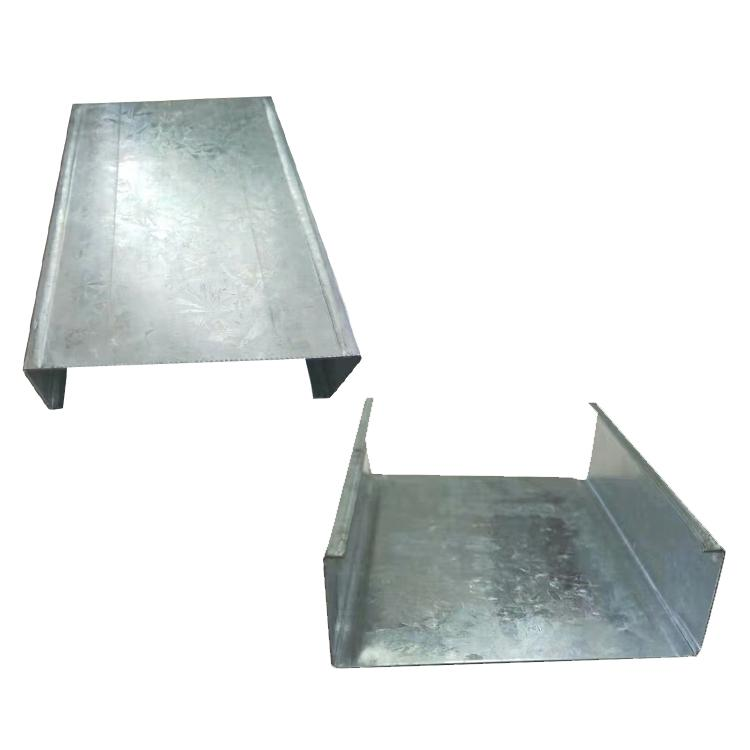Light Track Building Materials Metal Stud Steel Profile Price