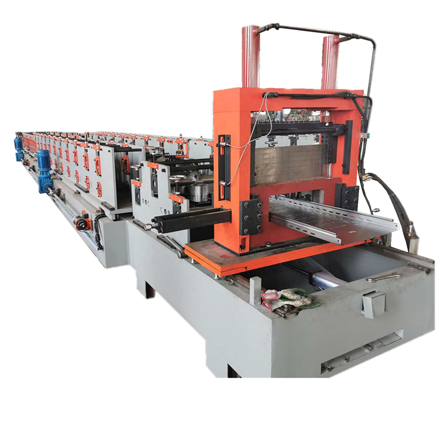Ladder type Cable Tray Forming Making Machine